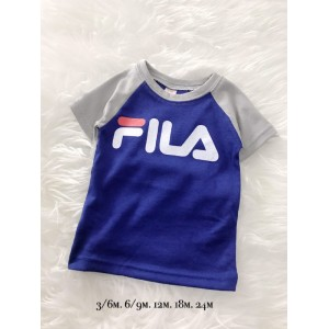 BOY TOP - Blue Fila