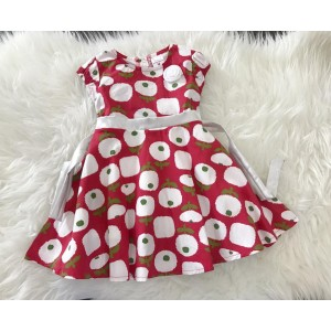 #1267 England Cotton -Red Apple Tree