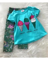 Girl Set -Mint Unicorn Ice Cream