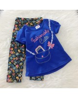 Girl Set -Royal Blue Fashion Cute
