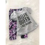 Girl Set -Grey Selfie Queen