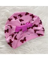 Turban Baby -Pink Butterfly