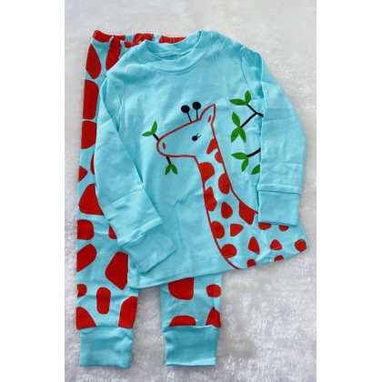 Pyjamas -520 BLUE GIRAFA