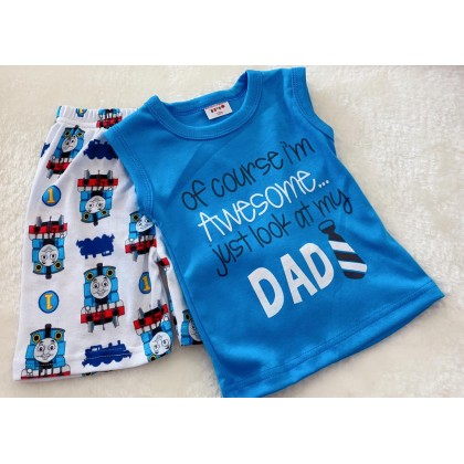Singlet Boy Set - 520 LOOK LIKE DAD