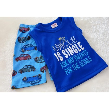 Singlet Boy Set - 520 SINGLE